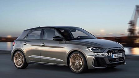Nuova Audi A1, ecco le prime foto sfuggite in rete