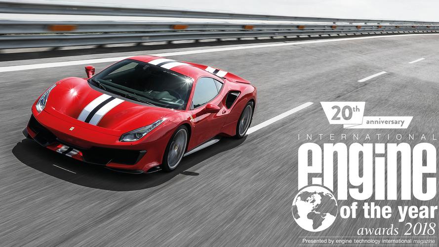 Il V8 Ferrari è Motore dell'Anno 2018