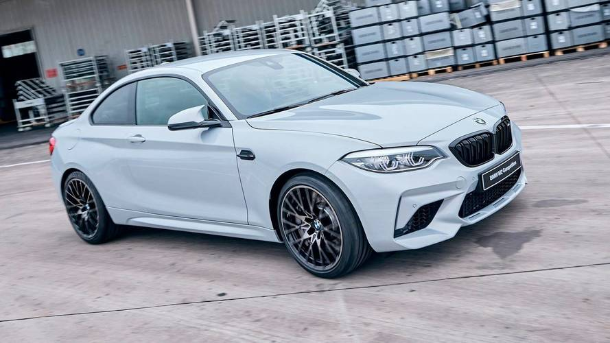 BMW M2 Competition Arrives In China And Poses For The Camera