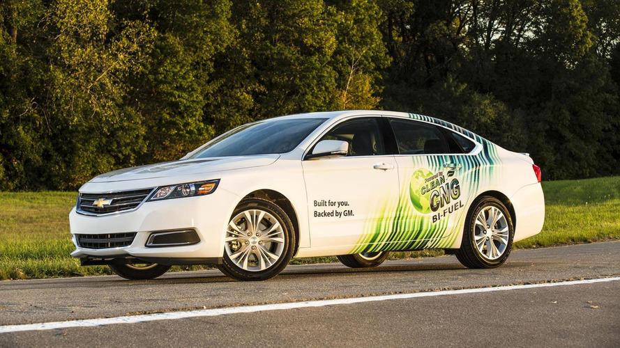 CNG-running 2015 Chevrolet Impala Bi-Fuel priced at 38,210 USD