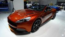Aston Martin Vanquish Volante Q live at 2013 Frankfurt Motor Show 11.09.2013