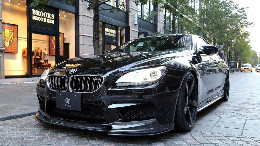 BMW M6 GranCoupe gets the carbon fiber treatment from 3D Design
