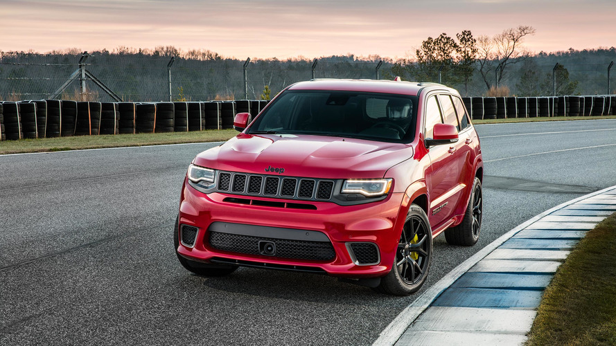 2018 Jeep Grand Cherokee Trackhawk Has 707 HP Of Purring Hellcat