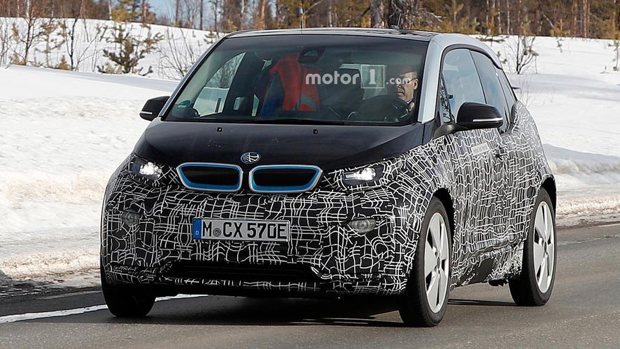 Makyajlı BMW i3 tekrar görüntülendi