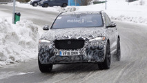 2018 Jaguar F-Pace SVR new spy photos