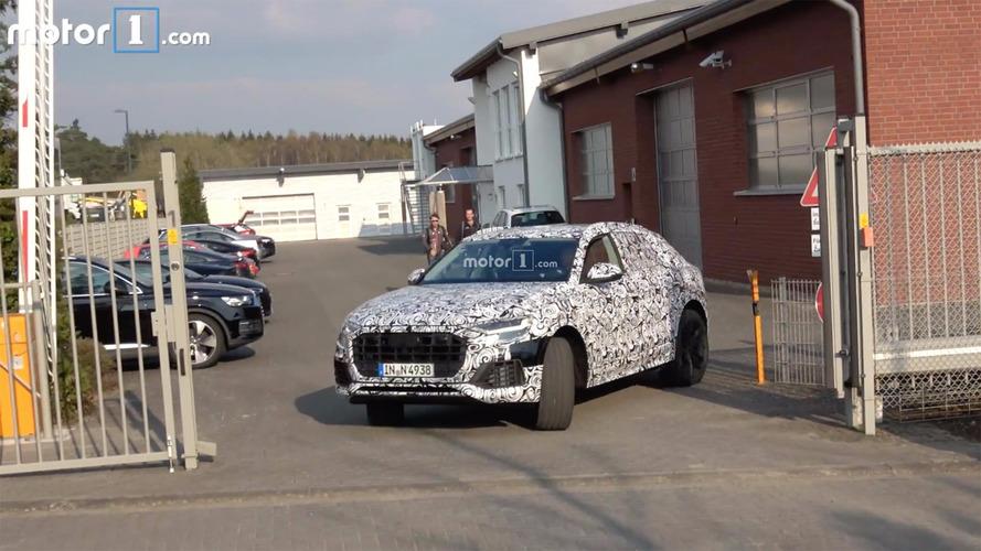VIDÉO - L'Audi Q8 se trémousse en vidéo