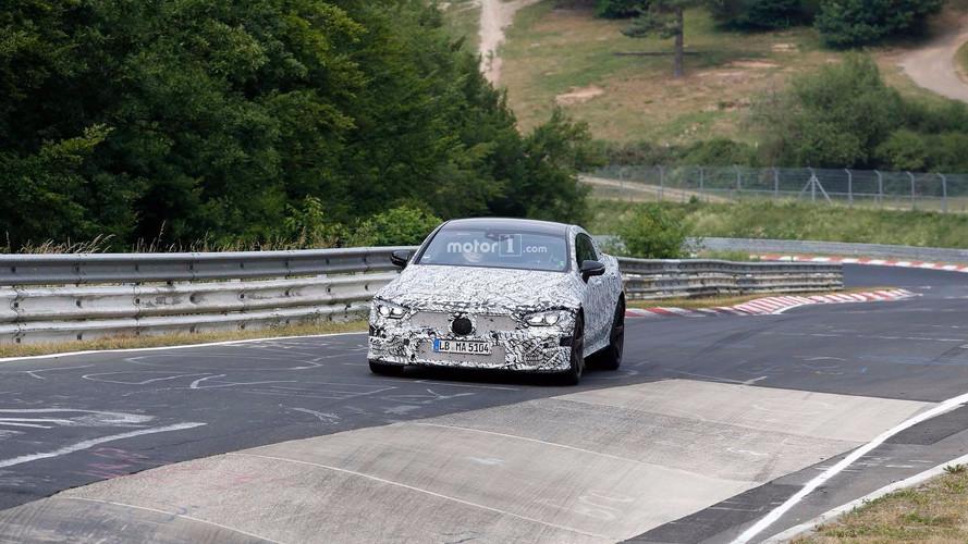 Mercedes-AMG GT Four-Door Prototype Spy Shots