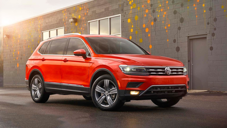 2018 Volkswagen Tiguan Pricing Starts At $25,345 for FWD Models