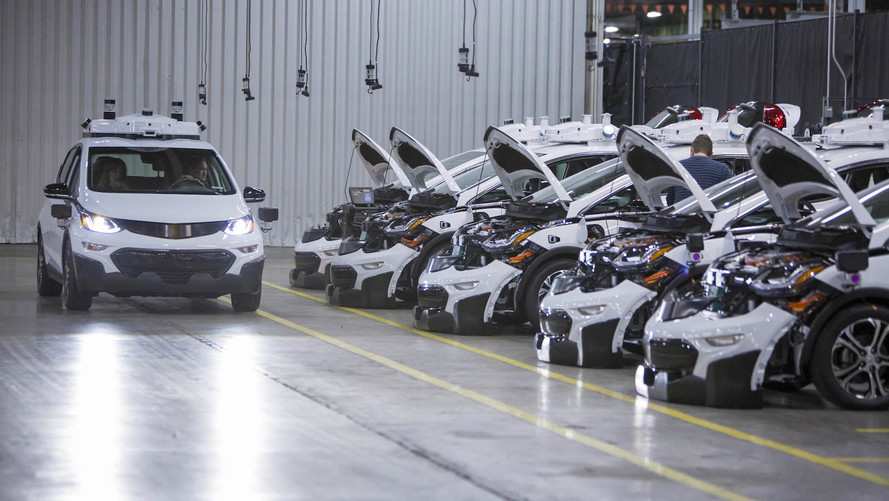Chevy Launches Fleet Of 130 Self-Driving Bolt EVs