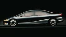 Chrysler Millennium Concept Vehicle. 1989