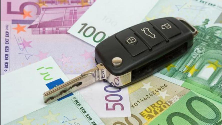 Mantenere l'auto costa più di 4.500 euro l'anno