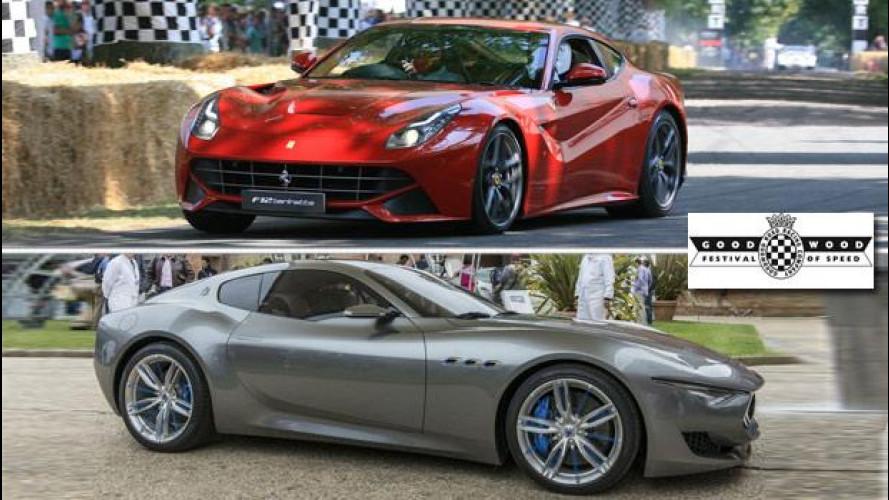 Ferrari e Maserati protagoniste al Goodwood Festival of Speed