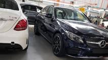 Mercedes-Benz C43 Factory Spy Shots