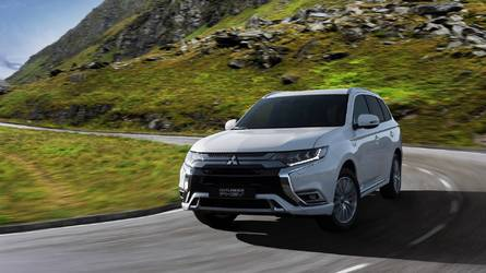 Mitsubishi retouche l'Outlander PHEV