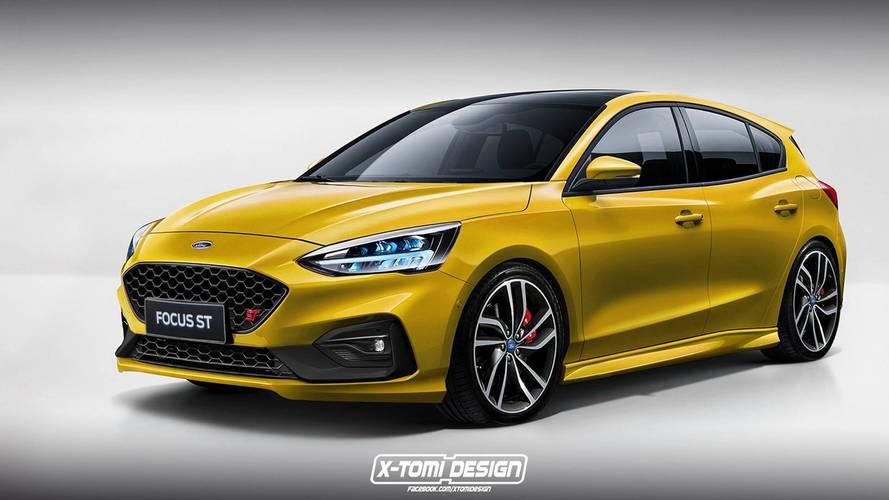 Yeni Ford Focus ST ve RS böyle görünebilir