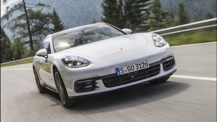 Porsche Panamera 4S Diesel, una forza della natura