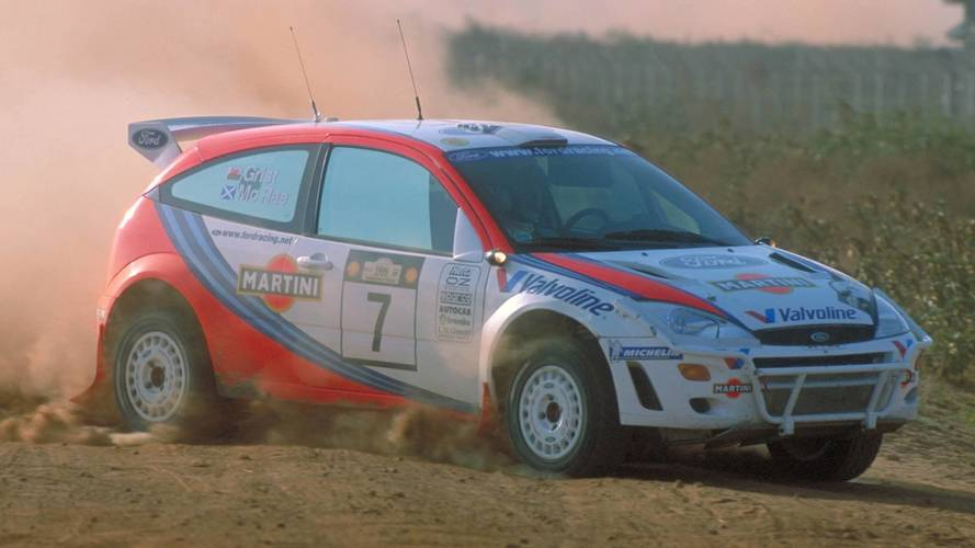 El Ford Focus WRC de Colin McRae, a subasta