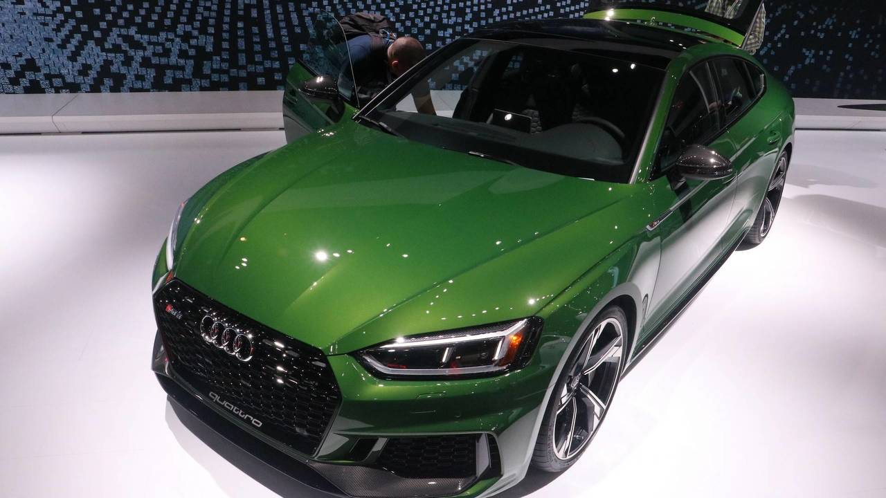 2019 Audi RS5 Sportback at the 2018 New York Auto Show