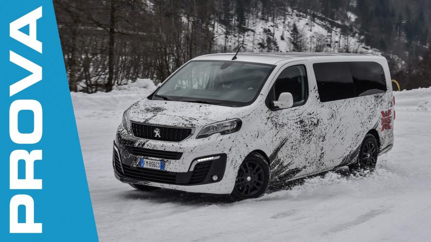 Peugeot Traveller 4x4 Dangel, se il gioco si fa duro