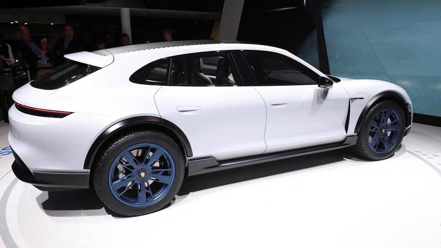 Porsche Mission E Cross Turismo Makes Surprise Debut In Geneva