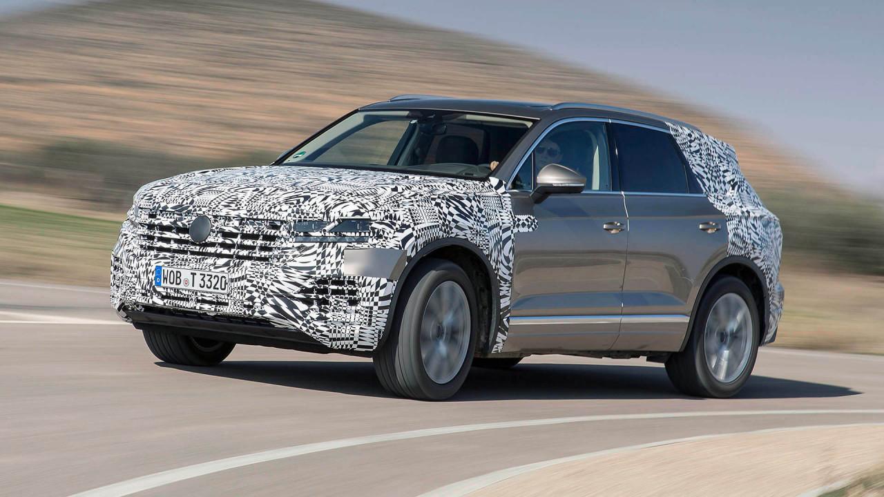 Neuer VW Touareg: Mehr Handlichkeit