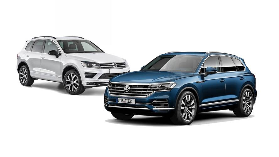 2019 VW Touareg: See The Changes Side By Side