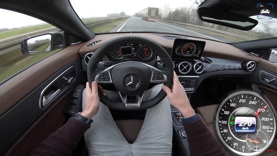Mercedes-AMG CLA 45 4MATIC 2018: así acelera hasta 270 km/h