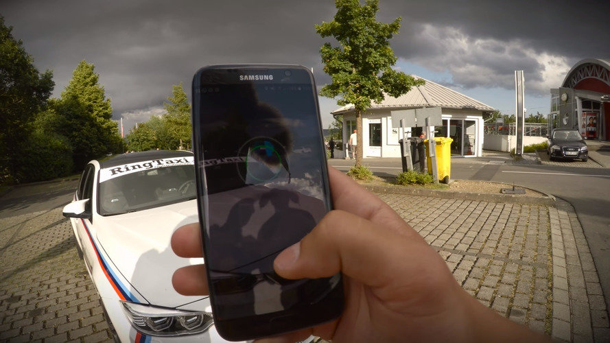 Catching Pokemon on the Nurburgring is apparently a thing now