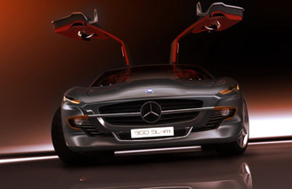 Unveiled: French Designer Creates the Retro-Inspired 2015 300 SL