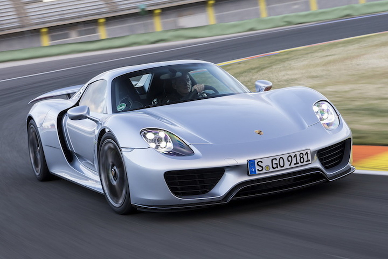 Even the Porsche 918 Supercar Gets Recalled