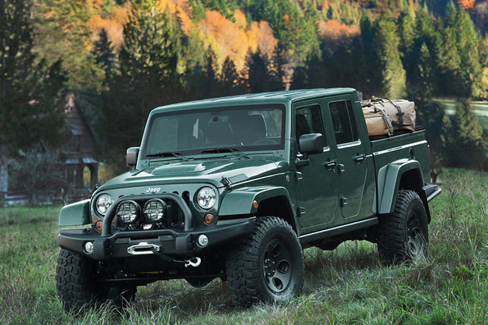 Limited Edition Filson Jeep Dresses Up the 'Brute'