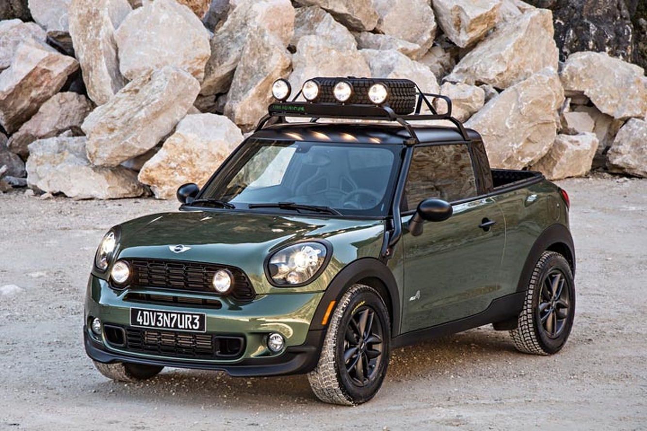 Would Anyone Buy This Paceman Pickup if Mini Built It?