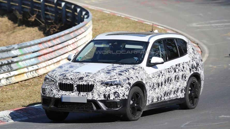 2016 BMW X1 returns to the Nürburgring