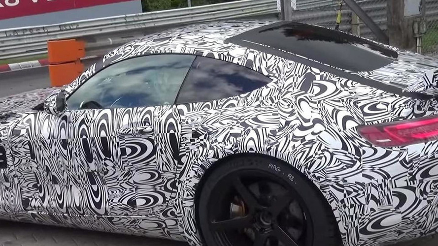 Hotter Mercedes-AMG GT spotted testing on the Ring [spy video]
