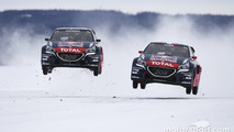 Sebastien Loeb and Timmy Hansen