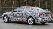 BMW 1 Series Sedan spy photo