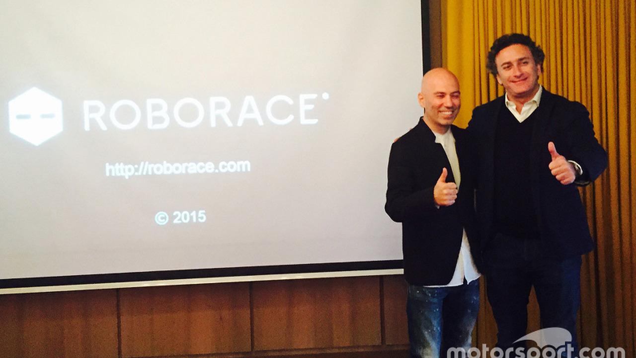 Denis Sverdlov, Kinetic founder and Alejandro Agag, head of Formula E