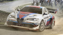 Alfa Romeo Giulia rally car