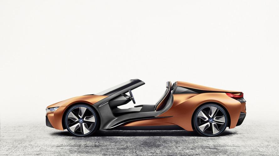 BMW officialise l'arrivée de la prochaine i8 Spyder !