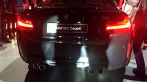 BMW M2 Sapphire Black spotted in the metal