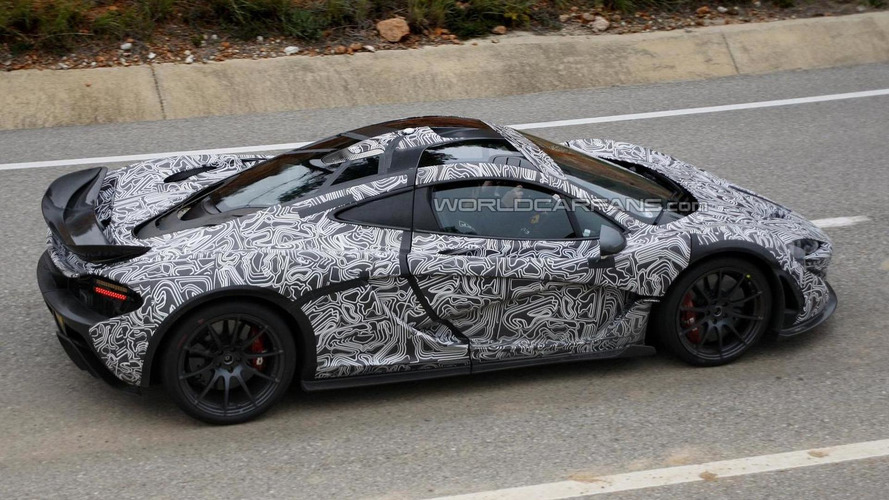McLaren P1 spied in more revealing photos