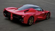 Ferrari F70 render / Josiah LaColla