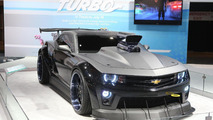 Turbo Chevrolet Camaro Coupe revealed at Chicago