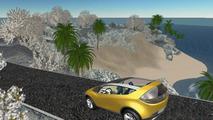 Mazda Hakaze Design Concept on Second Life