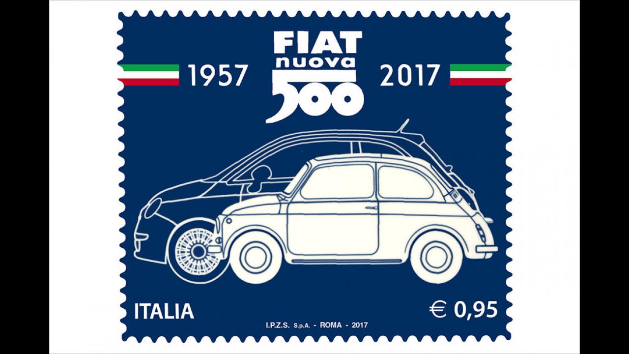 Frankierter Fiat