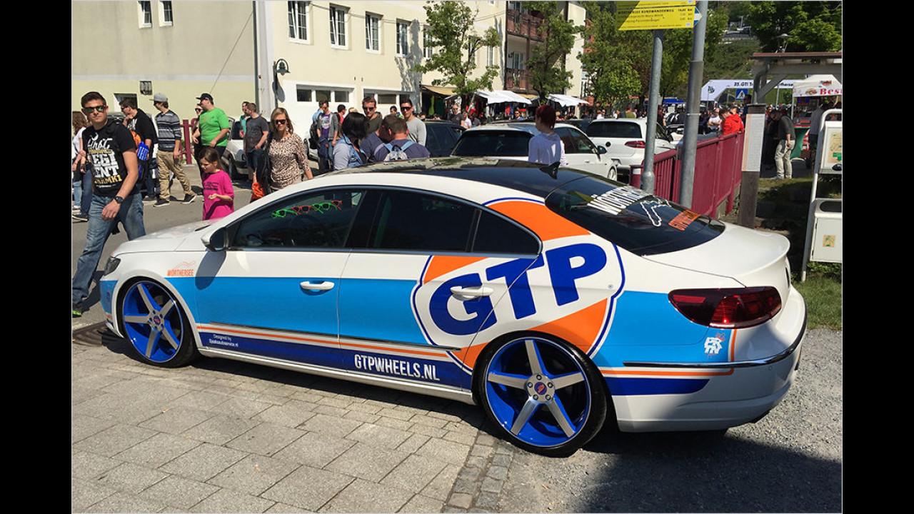 Auch den kann man tunen: Volkswagen CC im Racing-Look