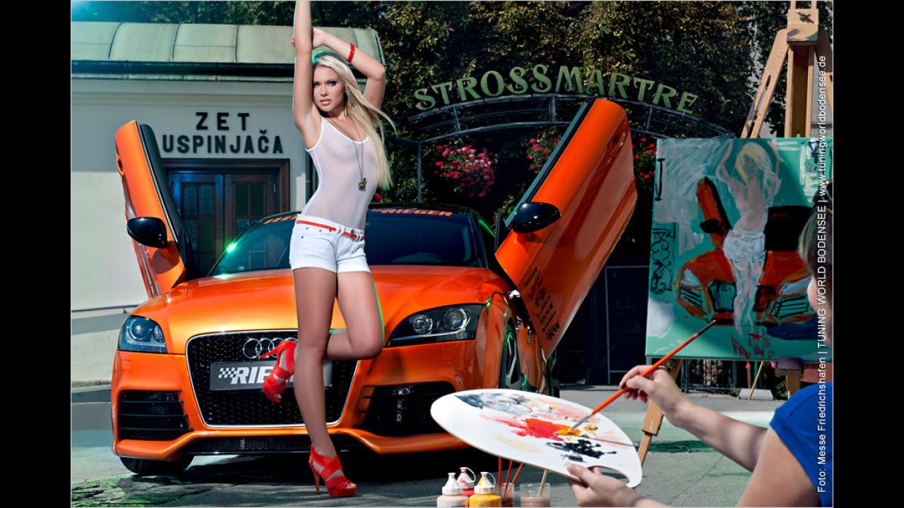 Miss Tuning Kalender 2012: Der Mai wird ziemlich durchsichtig