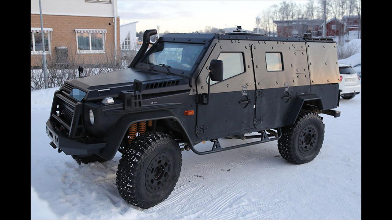 G-Modell-Erlkönig im Militär-Dress