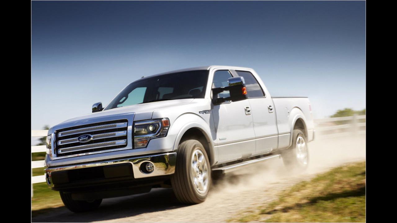 Ford F-Serie: 35 Millionen (seit 1948)