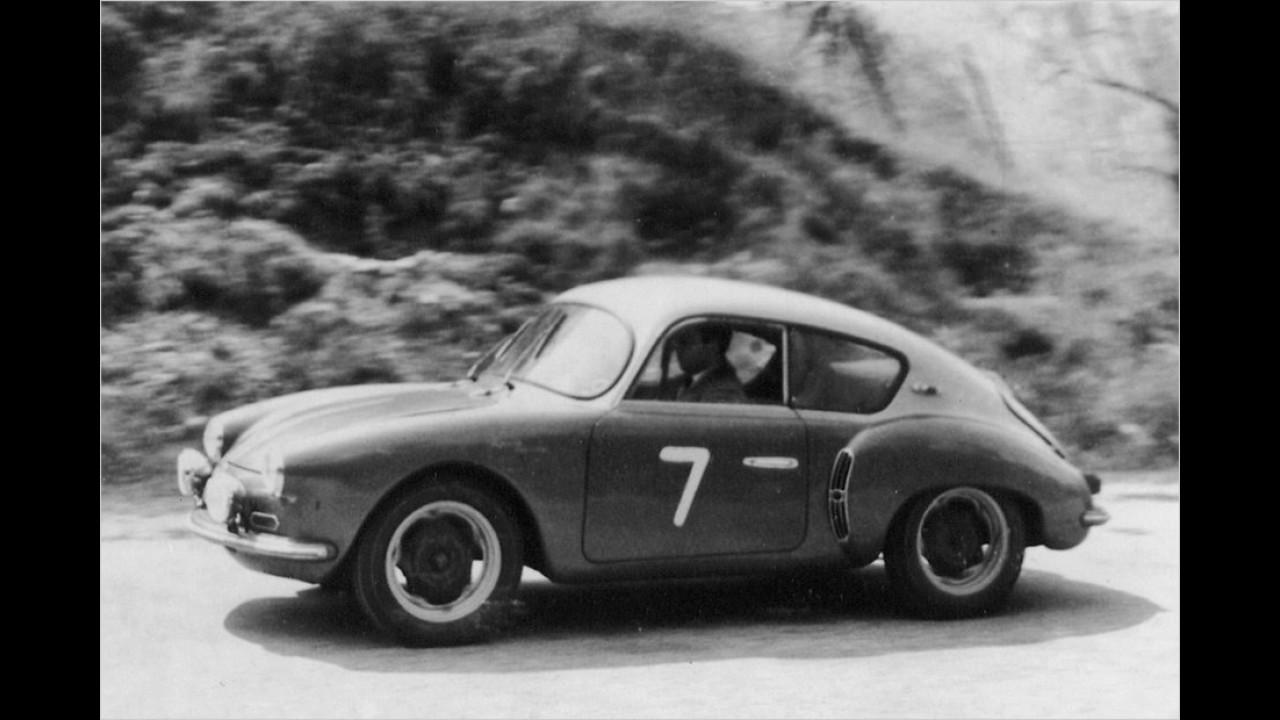 A106: Erster Rennerfolg im Jahr 1956